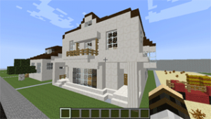 Kobayakawa Boarding House in Minecraft